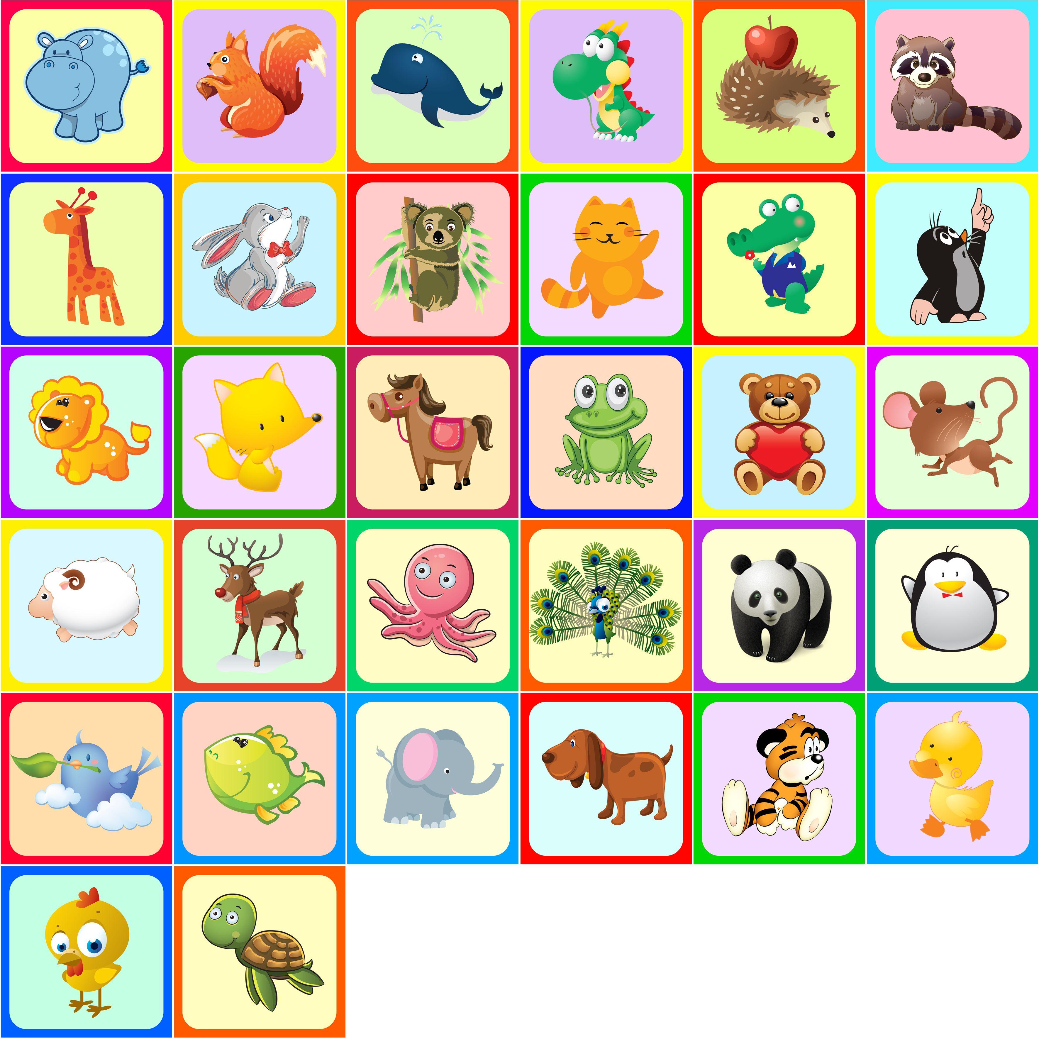 детские картинки для детского сада на шкафчики