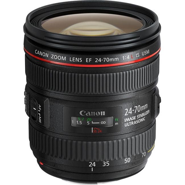CANON EF 24-70 mm F4L IS USM